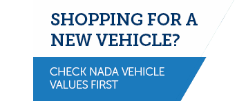 check NADA vehicle values first