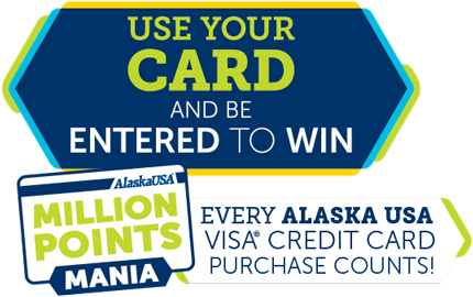 use your card and be entered to win
