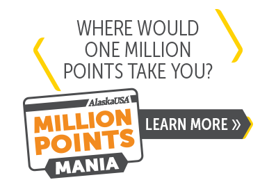 Where would one million points take you?