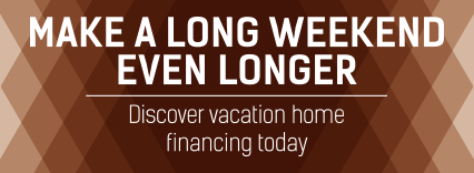 Discover vacation home financing today.