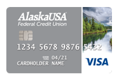Alaska USA Visa Platinum Credit Card
