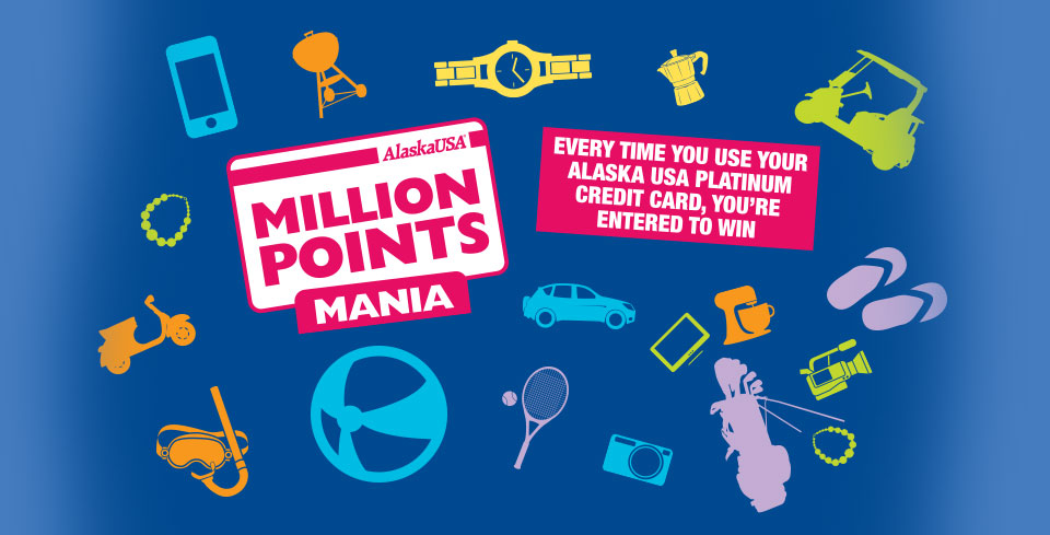 Get rewared when you use your Alaska USA credit card